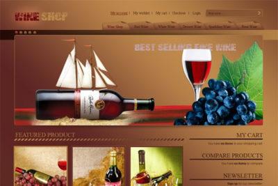 Em Wine – Free Magento Theme
