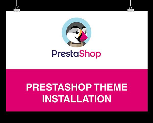 prestashop tutorial how to install a new theme