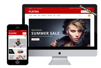 Platina – Free Opencart Theme